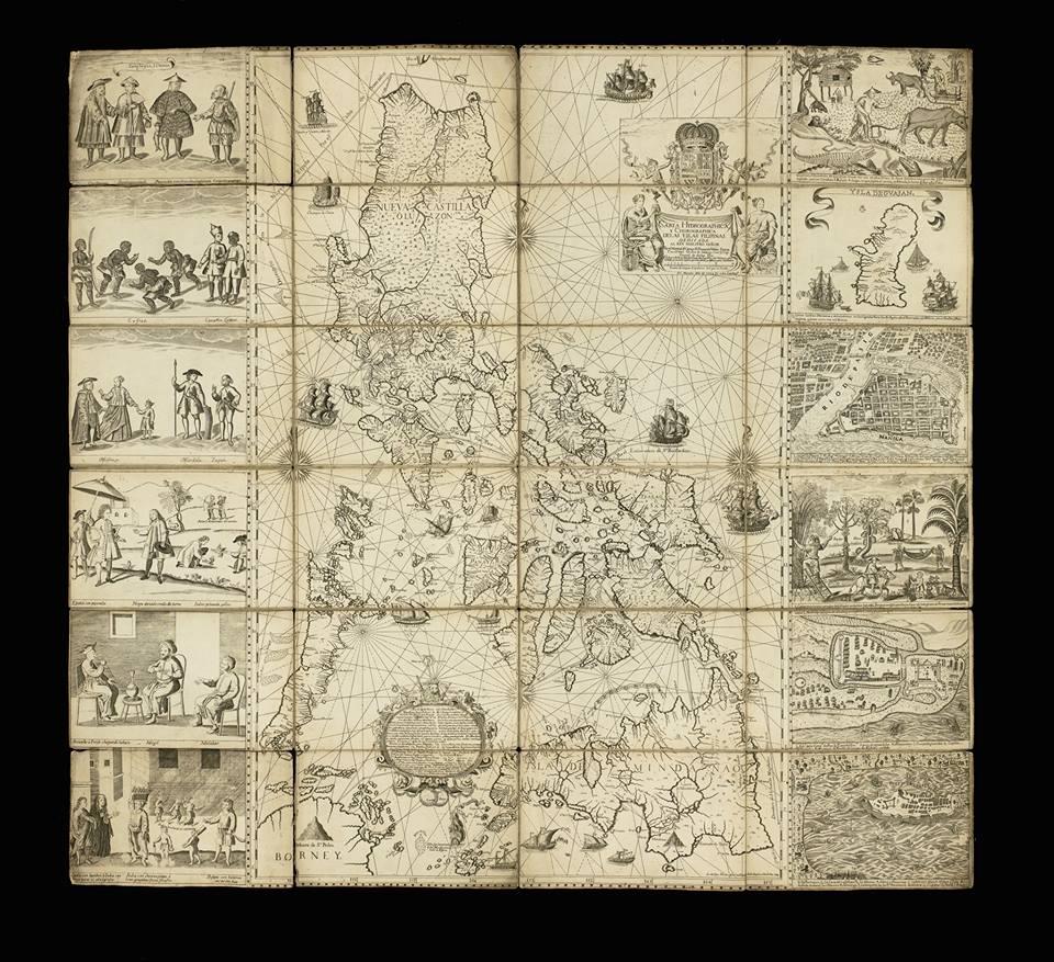 The Murillo Velarde 1734 Map