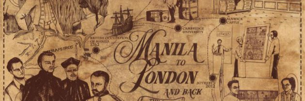 Manila to London and back: The story of a map's travels